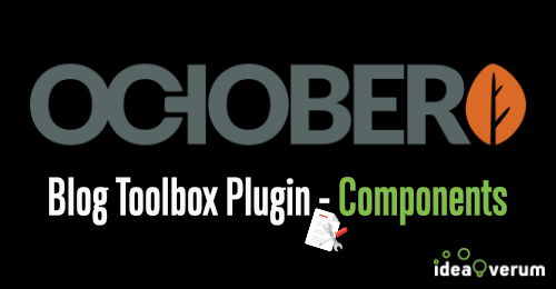 Learn all about great components that come with blog toolbox plugin